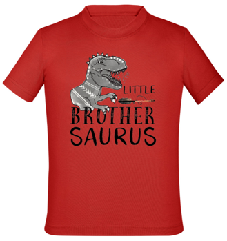 tričko s motivem little brother saurus
